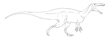 Stock dinosaurs true dinosaurs useful notes tv tropes for Baryonyx coloring pages