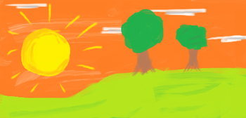 https://static.tvtropes.org/pmwiki/pub/images/sunset_with_two_trees.png