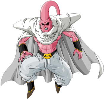 Dragon ball majin buu characters tv tropes click here to see buu after fusion breaks httpstatictropespmwikipubimages thecheapjerseys Image collections