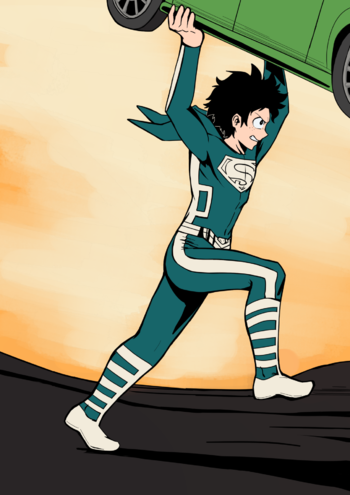 Neither a Bird nor a Plane, it's Deku! (Fanfic) - TV Tropes