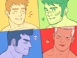 Gay blog chaos men