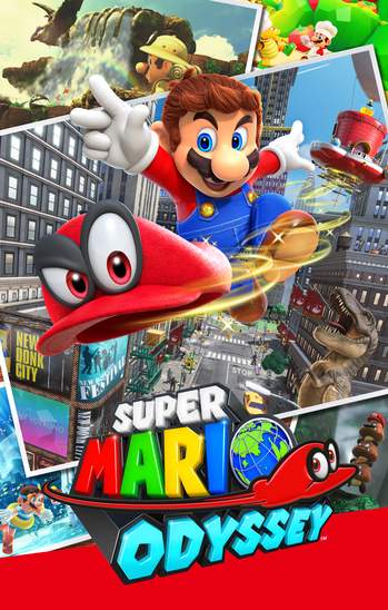 Super Mario Odyssey Video Game Tv Tropes