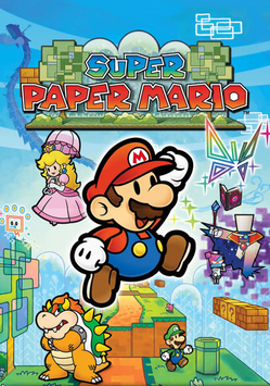 Super Paper Mario Nastasia After Final Boss