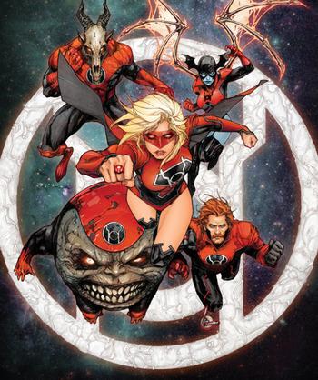 Red Daughter of Krypton (Comic Book) - TV Tropes