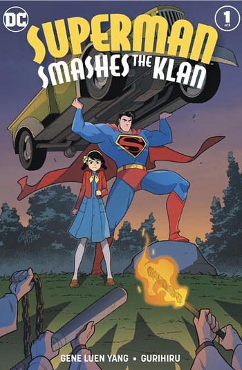 https://static.tvtropes.org/pmwiki/pub/images/superman_smashes_the_klan.jpg