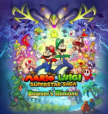 Mario Luigi Superstar Saga Video Game Tv Tropes