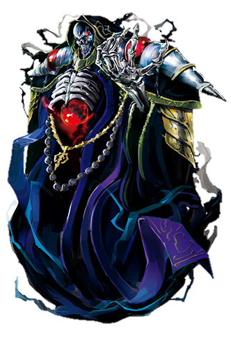 Overlord 2012 New Ainz Ooal Gown Characters Tv Tropes