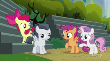 My Little Pony Friendship Is Magic S7 E22 Marks And Recreation Recap Tv Tropes She first appears in friendship is magic, part 1, and she is later properly. little pony friendship is magic s7 e22