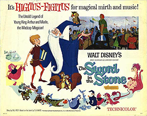 a synopsis of the sword in the stone from the once and future king by t h white Summary the sword in the stone, the first volume of the once and future king begins in the merry england of the middle ages, although england is also known thro.