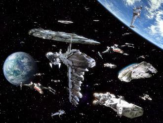 Standard Sci-Fi Fleet - TV Tropes
