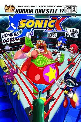 Sonic X (Comic Book) - TV Tropes
