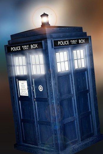 1960s Daleks with the TARDIS. | Daleks -the original props ...