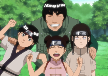 Naruto - Team Guy Members / Characters - TV Tropes