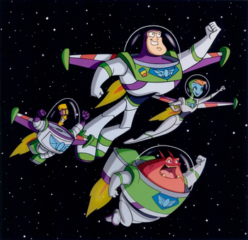 Buzz lightyear of star command sex