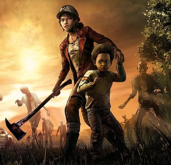 The Walking Dead Season Four Video Game Tv Tropes