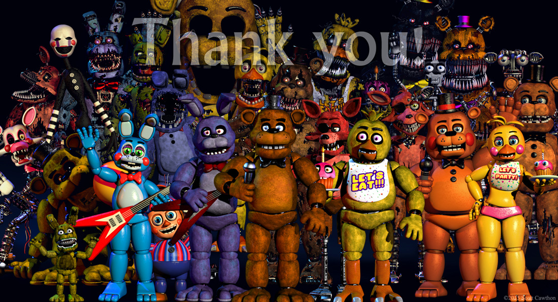 Five Nights at Freddy's / Characters - TV Tropes