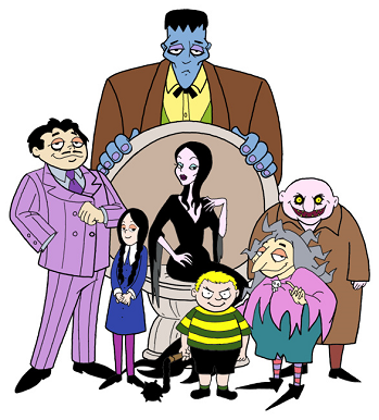 the addams family western animation tv tropes