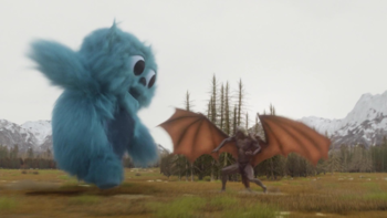 https://static.tvtropes.org/pmwiki/pub/images/the_legends_use_the_totems_of_zambesi_to_manifest_as_beebo_to_take_on_mallus.png