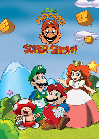 The Super Mario Bros Super Show Series Tv Tropes