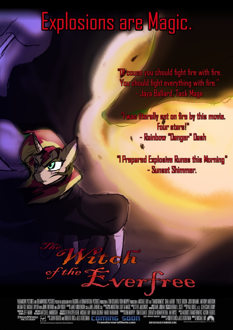 The Witch of the Everfree (Fanfic) - TV Tropes