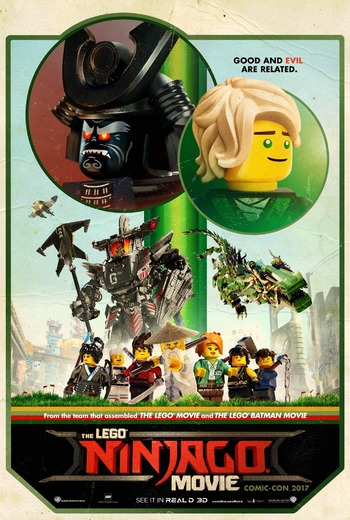 The Lego Ninjago Movie Western Animation Tv Tropes