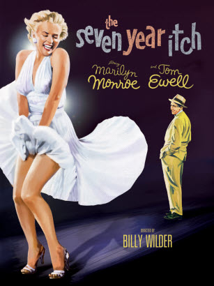 What does seven year itch mean