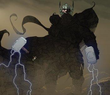 https://static.tvtropes.org/pmwiki/pub/images/thor_odinson_earth_616_and_all_black_klyntar_earth_616_from_thor_god_of_thunder_vol_1_11_001.jpg