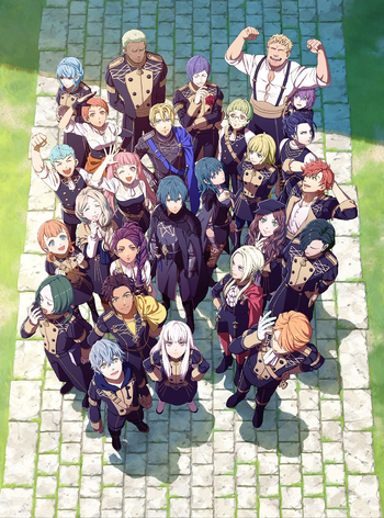 Fire Emblem Three Houses Characters Tv Tropes A shame it doesn't have a golden ending. fire emblem three houses characters