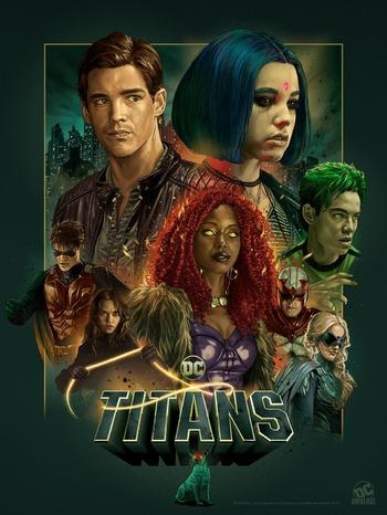 Titans 2018 Series Tv Tropes