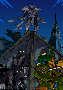 Teenage Mutant Ninja Turtles 2003 Western Animation Tv Tropes