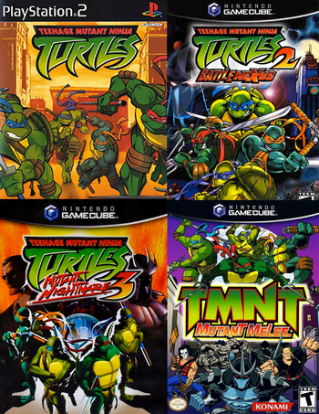Teenage Mutant Ninja Turtles 2003 Video Game Tv Tropes