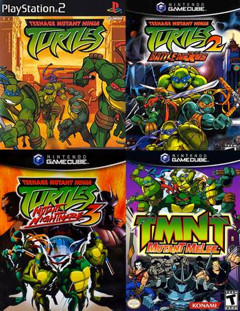 Teenage Mutant Ninja Turtles 2003 Video Game Tv Tropes
