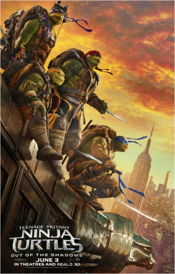 Teenage Mutant Ninja Turtles: Out of the Shadows (Film) - TV