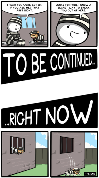 To Be Continued Right Now Tv Tropes