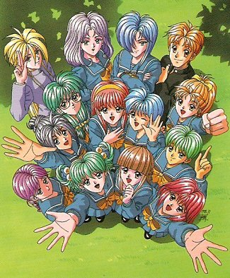 Tokimeki Memorial 1 Characters Tv Tropes