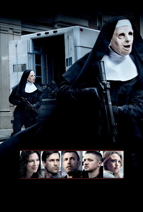 Nun fucks two young girls for