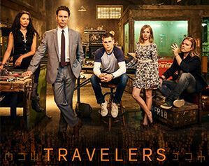 Image result for travellers tv show