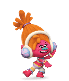 trolls   characters tv tropes head phone vector image head phone vector image