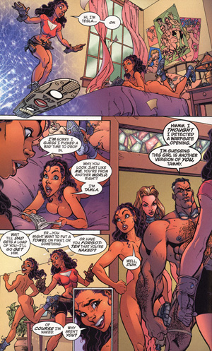 Comics aphrodite x nude Image
