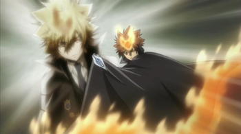 hitman reborn tsuna vs xanxus episode