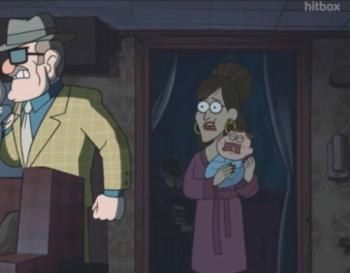 Gravity Falls Adults / Characters - TV Tropes | 350 x 273 png 106kB