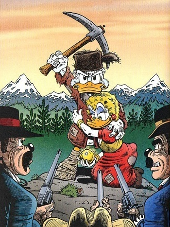 the life and times of scrooge mcduck comic book tv tropes