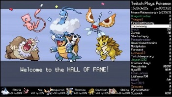 Twitch Plays Pokémon Firered Awesome Tv Tropes