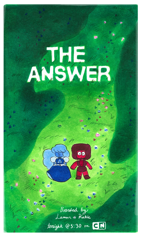 """The Answer Is The Five Guardians Of The Frink Lanterns Or: StevenUniverse S2-E25 """"The Answer"""" / Recap"""