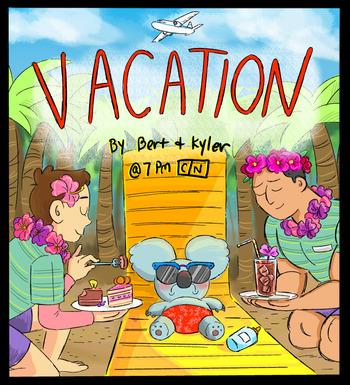 we bare bears s 4 e 4 vacation recap tv tropes