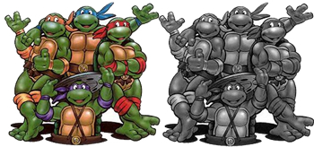 http://static.tvtropes.org/pmwiki/pub/images/turtles_color_coded_horizontal_8907.jpg
