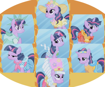 http://static.tvtropes.org/pmwiki/pub/images/twilight_sparkle_outfit_montage_8025.png