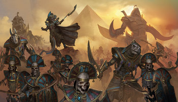 Total War Warhammer The Tomb Kings Characters Tv Tropes