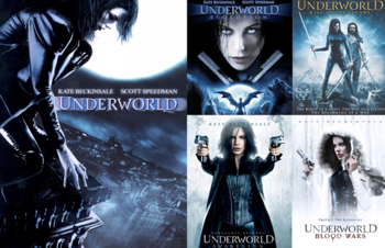 Underworld love scene