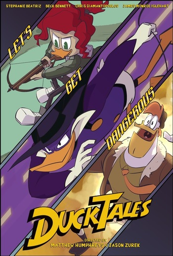 Ducktales 2017 S3e12 Let S Get Dangerous Recap Tv Tropes